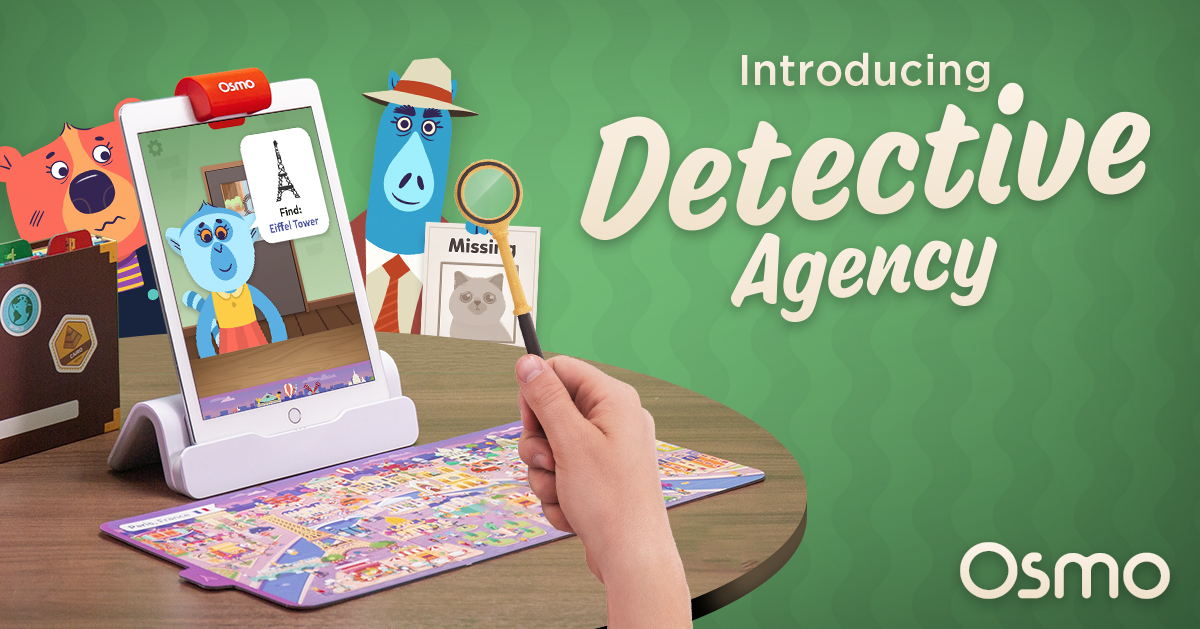 Osmo Detective Agency | Solve Mysteries Around the World!