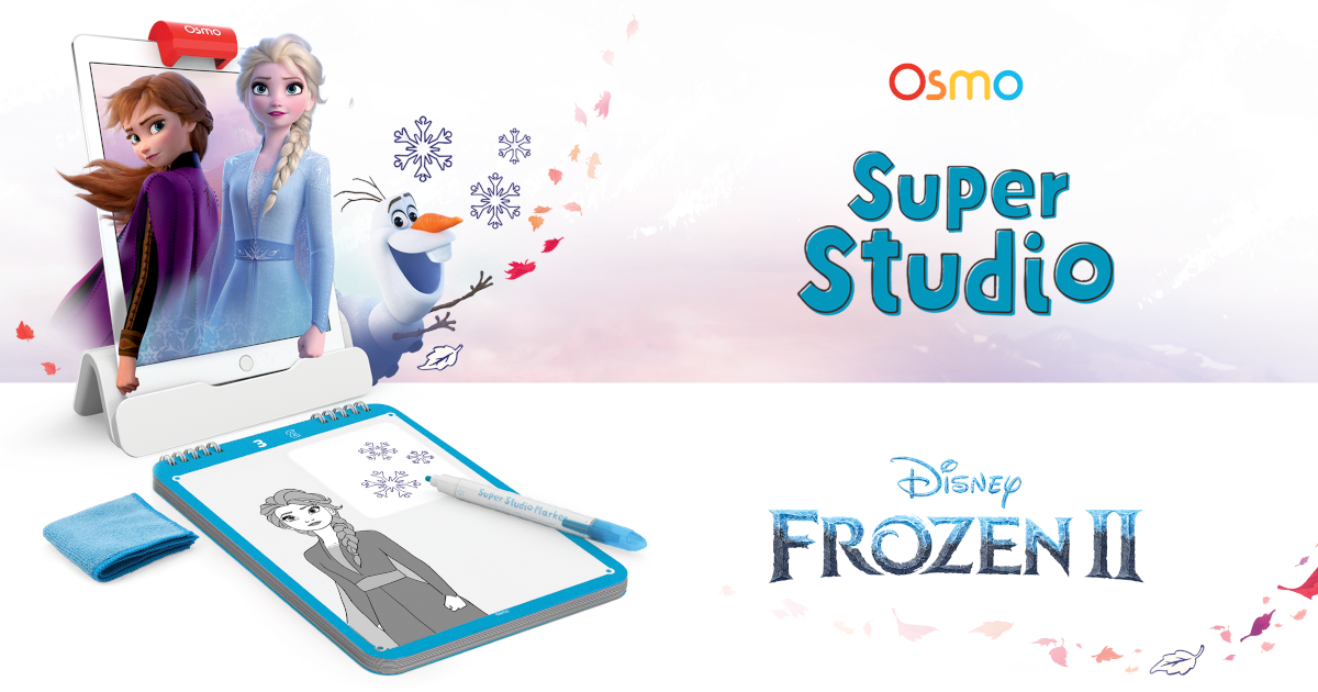 Draw with Frozen 2 Characters in Super Studio Frozen 2 Game | Osmo
